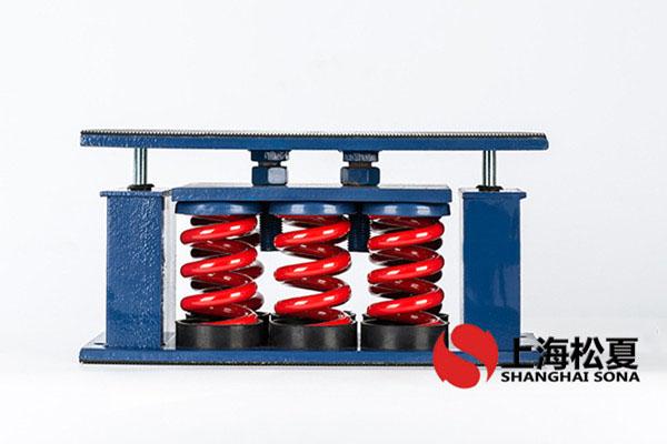 弹簧减振器的应用结构