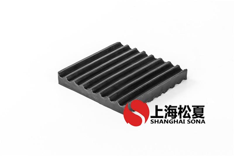 150*150*20橡胶减震垫 空压机橡胶减震垫